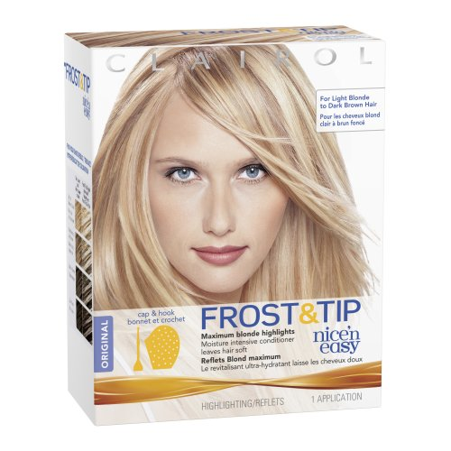 Clairol Nice 'N Easy Frost & Tip Hair Highlights, Original 1 Kit (Pack ...