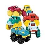 Battat Mini Monster Trucks x 6