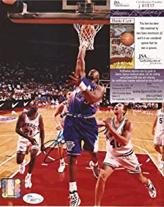 Karl Malone Utah Jazz Signed Autographed 8x10 Photo JSA COA #j60517 by Hollywood Collectibles