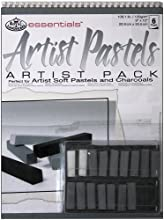 Royal amp Langnickel Gray Tone Soft Pastel Artist Pack 9-Inch by 12-Inch