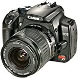 Canon Digital Rebel XT 8MP Digital SLR Camera with EF-S 18-55mm f3.5-5.6 Lens (Black)
