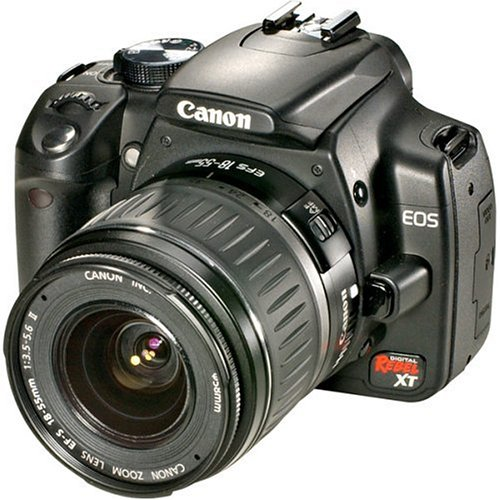 Canon EOS Digital Rebel XT (with 18-55mm Lens) is the Best Digital Camera for Photos of Children or Pets Under $750 with Manual Controls