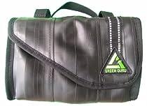 Repurposed Bicycle Tubes Handlebar Bag by Green Guru Gear