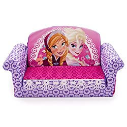 Marshmallow Furniture Marshmallow Childrens Furniture - Disney Frozen Flip Open Sofa
