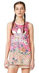 adidas Originals Women's Body Blouse Top (AJ8137_Multicolor_44)