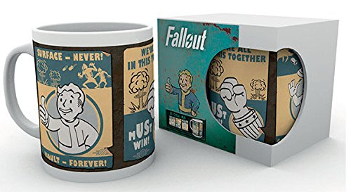 "GB eye Ltd-Stampa ""Fallout Vault 1 art1 4 tazza, in vari colori"