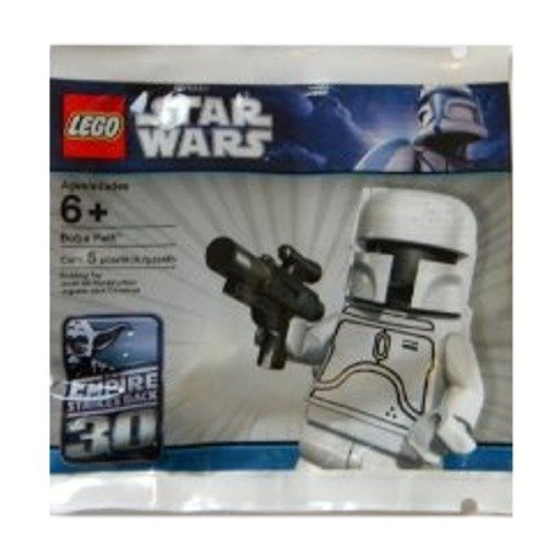 Lego Star Wars Boba Fett Minifigure Lego Star Wars White Boba Fett
