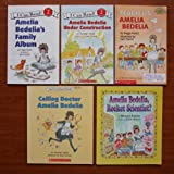 img - for Amelia Bedelia: Set of 5 Books (Amelia Bedelia's Family Album ~ Amelia Bedelia Under Construction ~ Amelia Bedelia, Rocket Scientist? ~ Calling Doctor Amelia Bedelia ~ Teach Us, Amelia Bedelia) book / textbook / text book