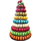 10 Tier Round Macaron Tower Stand Adjust tiers level Dia from 4