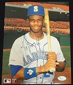 Ken Griffey Jr Seattle Mariners Signed Photo 8x10 Coa #j51257 - JSA Certified -... by Sports+Memorabilia