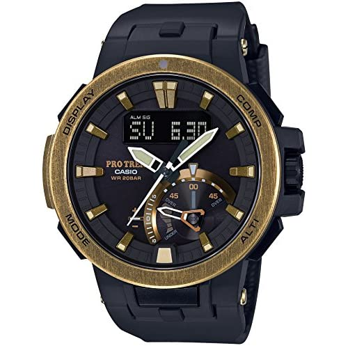 CASIO PROTREK Vintage Gold Color PRW-7000V-1JF MENS JAPAN IMPORT