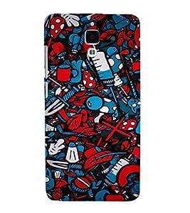 EPICCASE Absract Art Case Mobile Back Case Cover For Xiaomi Mi4 (Designer Case)