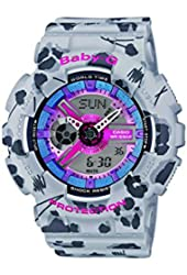 Casio BA-110FL-8AER - Women's Watch, Resin, Multicolor