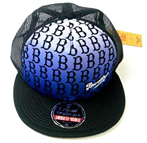 Brooklyn Dodgers American Needle RERUN Limited Edition Mesh Back Snapback Cap by American Needle