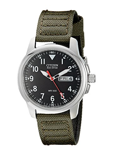 citizen-mens-bm8180-03e-eco-drive-stainless-steel-watch-with-green-canvas-band