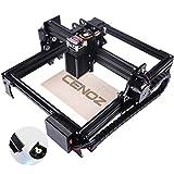 DIY Wood Engraving Machine for Beginners 3000mw CNC Engraver Pro Engraver Router Printer Machine for Handicraft Wood Desktop Working Area 200mm x290mm cenoz