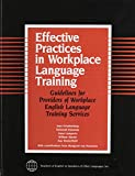 img - for Effective Practices in Workplace Language Training book / textbook / text book