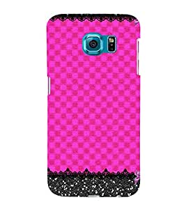 Pink Color Pattern Cute Fashion 3D Hard Polycarbonate Designer Back Case Cover for Samsung Galaxy S6 Edge :: Samsung Galaxy S6 Edge G925 :: Samsung Galaxy S6 Edge G925I G9250 G925A G925F G925FQ G925K G925L G925S G925T