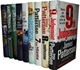 James Patterson Collection 9 Books Set Pack RRP £167.91 (9th Judgement, 8th Confession, 7th Heaven, The 6th Target, The 5th Horseman, 4th of July, 3rd Degree, 2nd Chance, 1st to Die) (Womens Murder Club) James Patterson