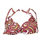 Clearance Speedo Ladies/Womens Swirl Pattern Swim Wear Bikini Top