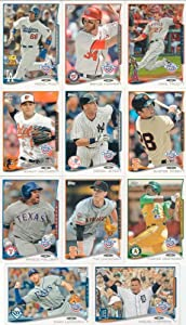2014 Topps Opening Day Baseball Series Complete Mint Hand Collated 220 Card Set with... by Baseball Card Set