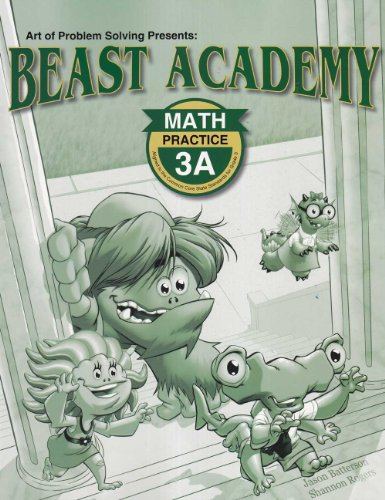 Beast Academy Math 3A Guide and Practice Bundle 2-Book Set, by Jason Batterson and Erich Owen