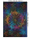 Twin-Blue-Tie-Dye-Bohemian-Tapestry-Elephant-Star-Mandala-Tapestry-Tapestry-Wall-Hanging-Boho-Tapestry-Hippie-Hippy-Tapestry-Beach-Coverlet-Curtain