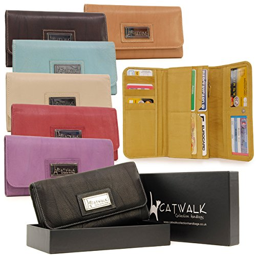 Catwalk Collection Leather Matinee Purse - Gemma - Gift Box