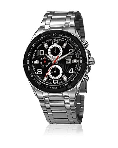 August Steiner Reloj AS8127SSB Plata / Negro