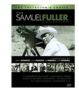 The Samuel Fuller Film Collection (It Happened in Hollywood / Adventure in Sahara / Power of the Press / The Crimson Kimono / Shockproof / Scandal Sheet / Underworld U.S.A.)