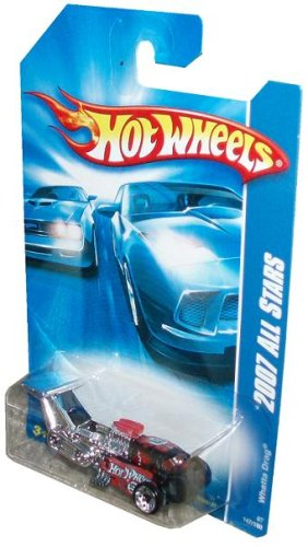 Mattel Hot Wheels 2007 All Stars Series 1:64 Scale Die Cast Metal Car # 147 of 180 - Future 3 Wheels Drag Racing Car WHATTA DRAG with Fun Facts # 147 - 1