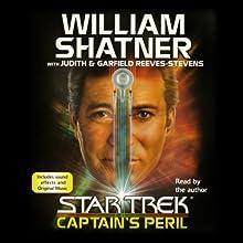 Star Trek: Captain's Peril (       ABRIDGED) by William Shatner Narrated by William Shatner
