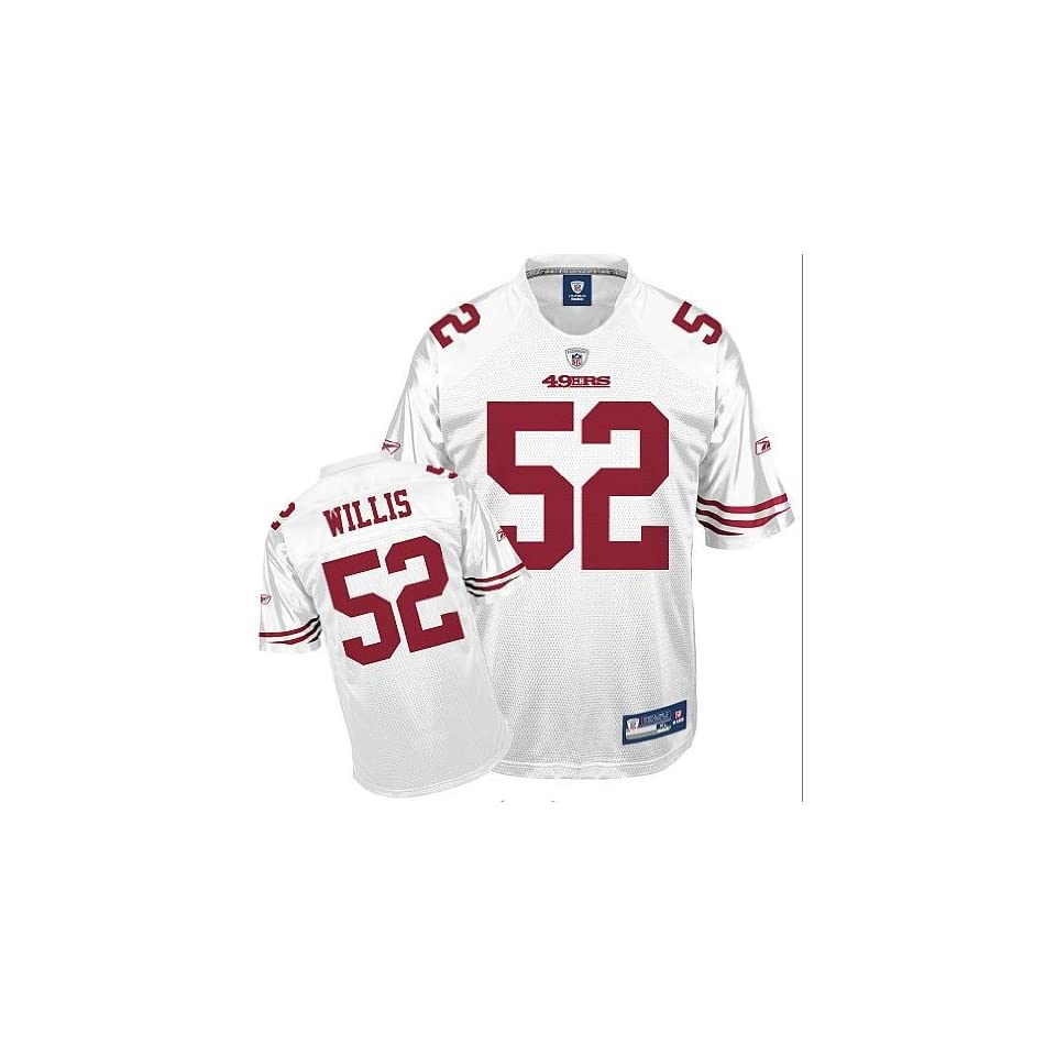finest selection 560df e3b36 Patrick Willis #52 San Francisco 49ers Replica NFL Jersey ...