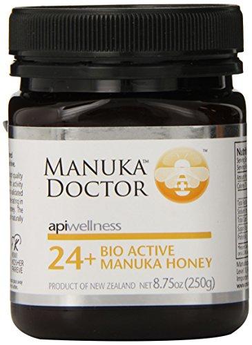 最珍贵的蜂蜜之一,Manuka Doctor麦卢卡 UMF 24+ 天然蜂蜜 250g(抗菌消毒增抵抗力)图片