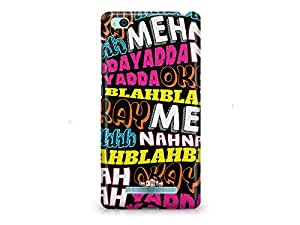 The Crazy Me Nothing to Do Days (Blahh Blahh) Xiaomi Mi4i Phone Cover