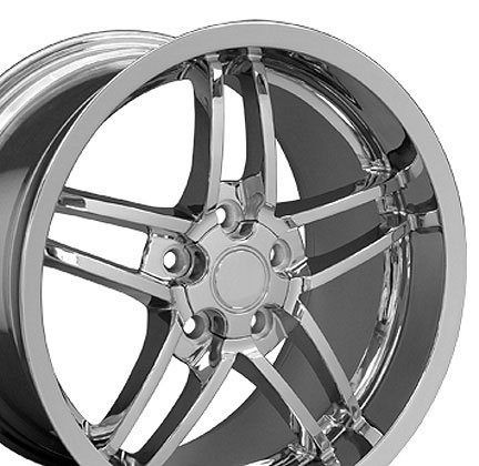 Wheel1x - C6 Z06 Deep Dish Wheels Fits Camaro 