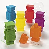 Plastic Robot Bubble Bottles (2 dz)