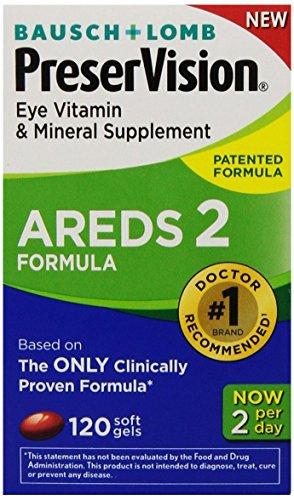 Bausch & Lomb PreserVision AREDS 2 Formula Eye Vitamin & Min