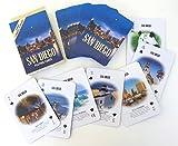 San Diego, Souvenir Set, Includes Playing Card, Key Chain and Magnet, Dallas, Souvenir Set, Set of Three Souvenirs