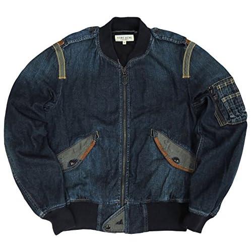 AVIREX #6132107 デニム フライトジャケット L-2 『TYPE BLUE』Mワンカラー
