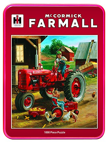 MasterPieces Puzzle Company Case/IH Farmall Friends Jigsaw Puzzle (1000-Piece), Art by Charles Freitag