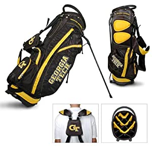 Georgia Tech Yellowjackets NCAA Stand Bag - 14 way by Team Golf