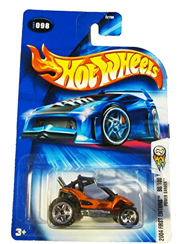 Hot Wheels 2004 First Editions Power Sander 98/100 ORANGE 098 1:64 Scale - 1