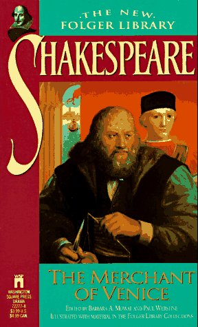 Merchant of Venice, WILLIAM SHAKESPEARE, BARBARA A. MOWAT, PAUL WERSTINE