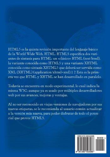HTML5 Avanzado.: HTML5 en Profundidad