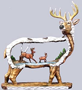 Wildlife Creations Standing Deer Carving Figurine