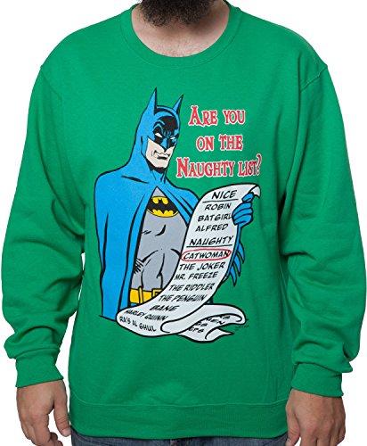 Naughty List Batman Sweatshirt