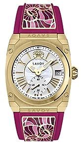 Savoy Watches C3303A.01K.RG31 - Orologio da polso, colore: rosa