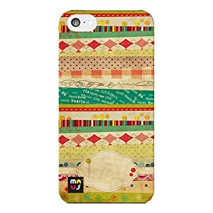 MAUj Pattern 012 Back Cover for Apple i-phone 5c