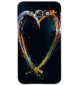 SAMSUNG GALAXY GRAND 3 HEART Back Cover by PRINTSWAG